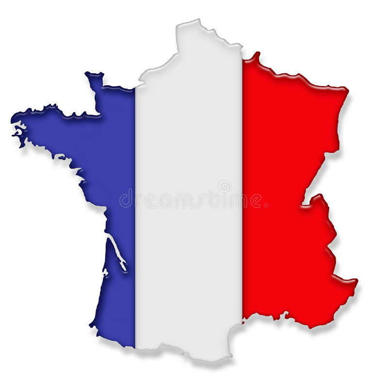 Frankreich vektor abbildung