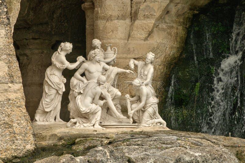 Frankreich, Apollo Baths-Waldung in Versailles-Palast stockbild