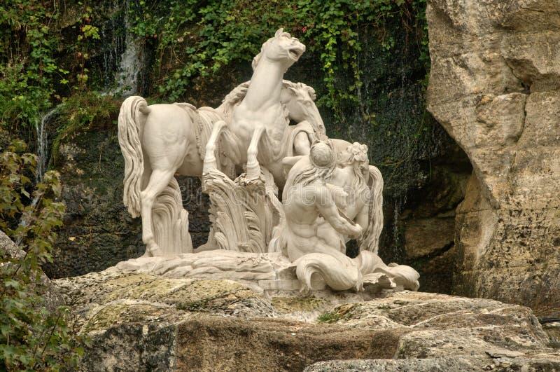 Frankreich, Apollo Baths-Waldung in Versailles-Palast stockbilder
