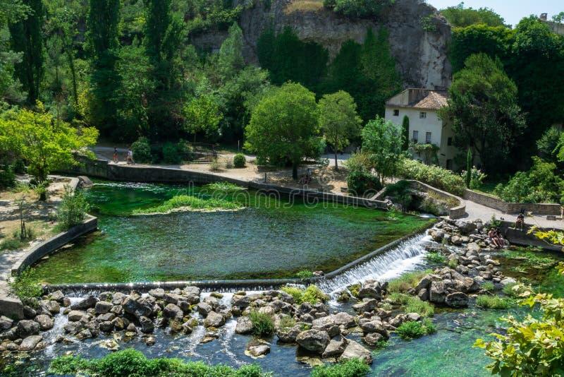 Frankreich in der Sommerzeit lizenzfreies stockfoto
