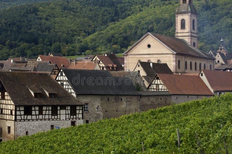 Frankreich, Elsass, Riquewihr lizenzfreie stockbilder