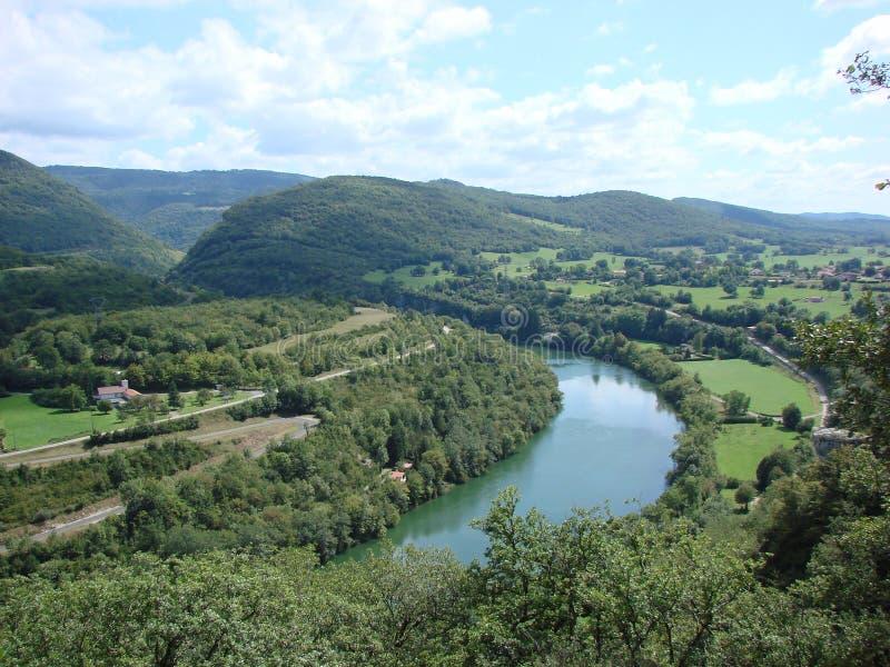 Frankreich Jura stockbild