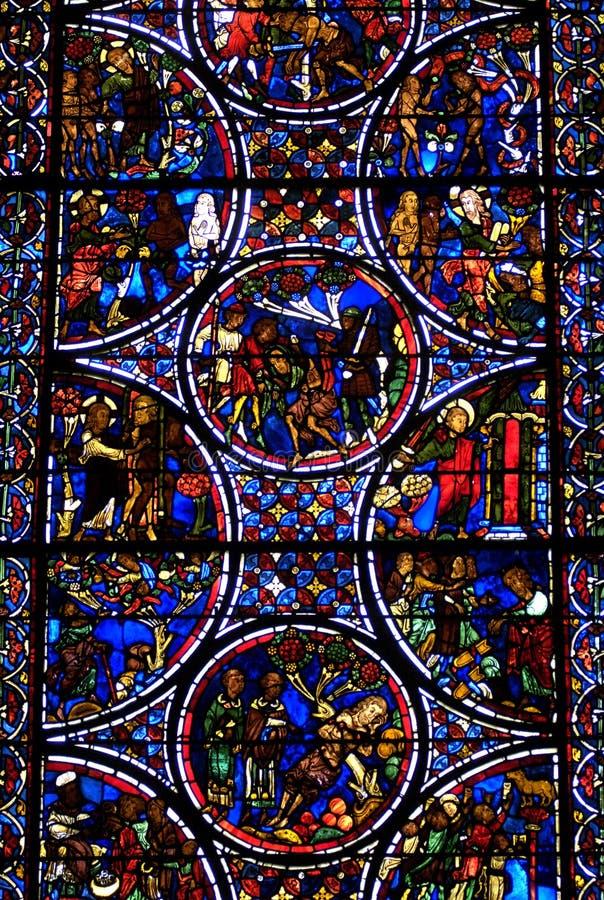 Frankreich, Kathedrale von Bourges stockfotos