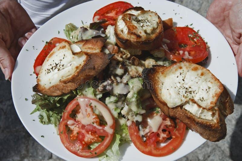 Frankreich, Korsika, Bonifacio, corse Nahrung stockbild