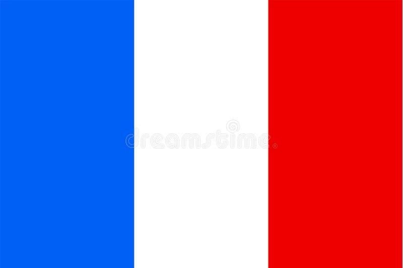 Frankreich-Markierungsfahne