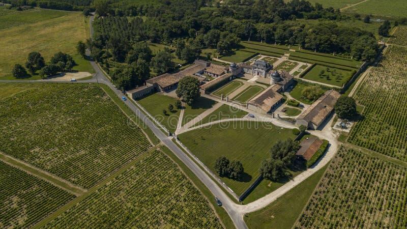 Frankreich, Schloss von Malle in Gironde, Sauternee, Frankreich stockbilder