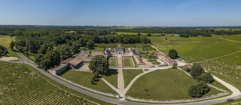 Frankreich, Schloss von Malle in Gironde, Sauternee, Frankreich stockfotos