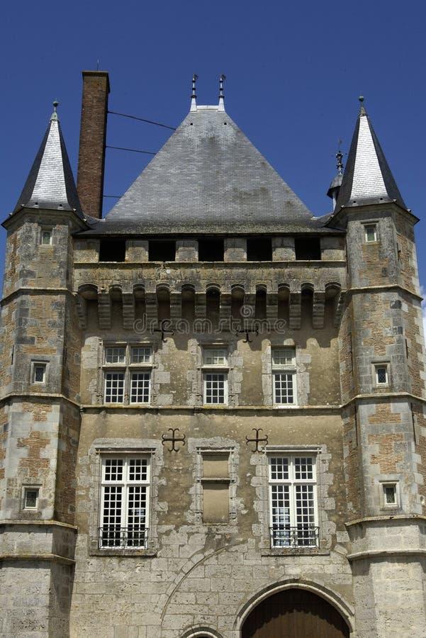 Frankreich, Schloss von Talcy lizenzfreies stockbild