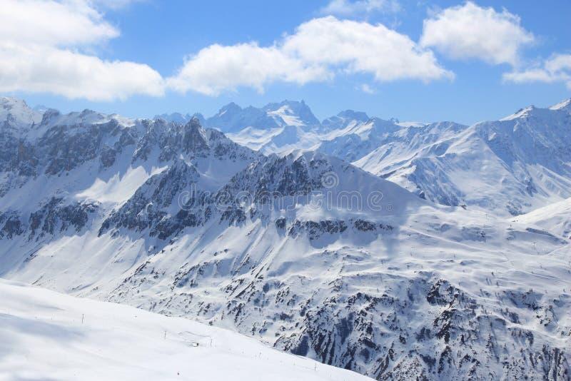 Frankreich-Winter stockfotografie