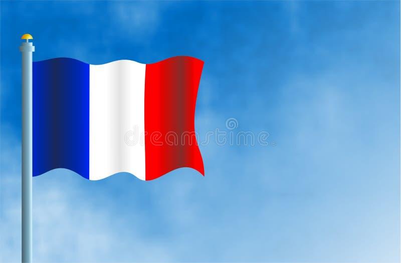 Frankrijk royalty-vrije illustratie