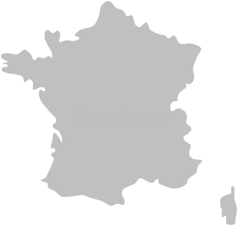 Frankrijk stock illustratie