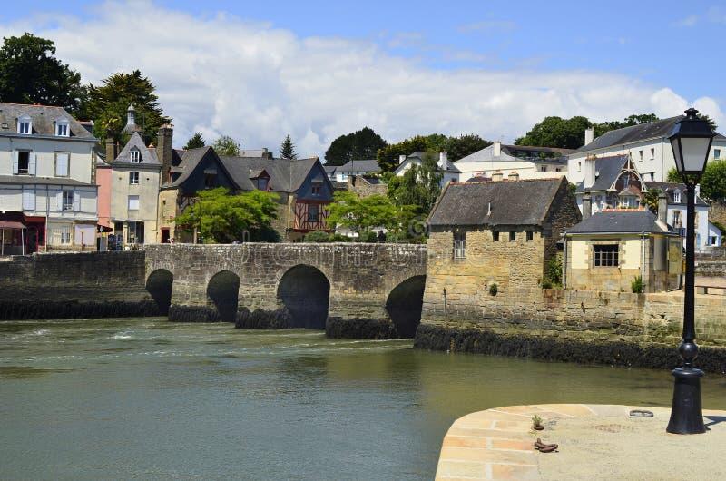 Frankrijk, Auray royalty-vrije stock afbeelding