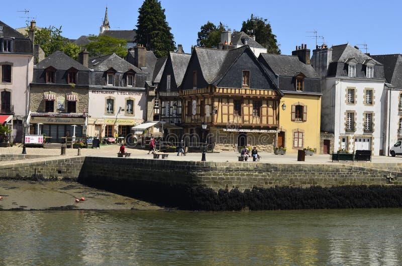 Frankrijk, Auray stock afbeelding