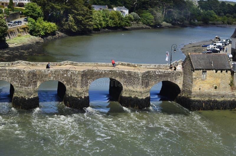 Frankrijk, Bretagne, Auray stock afbeeldingen