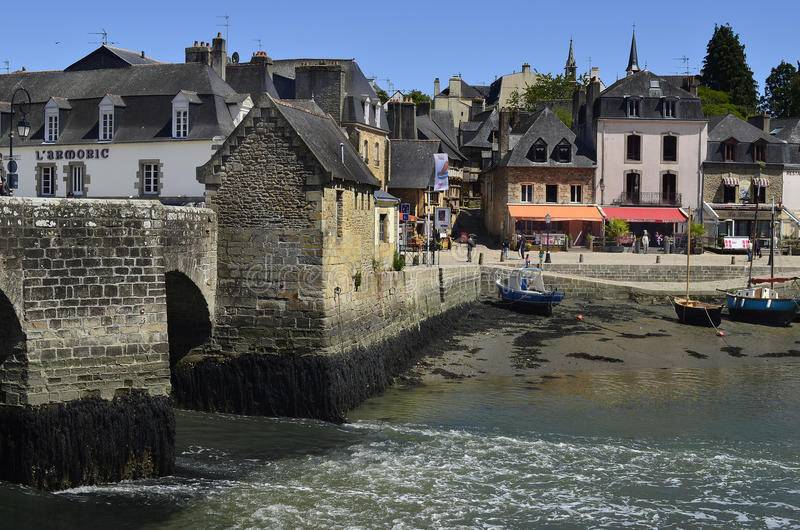 Frankrijk, Bretagne, Auray stock fotografie