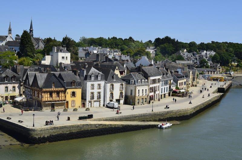 Frankrijk, Bretagne, Auray royalty-vrije stock afbeelding