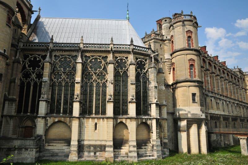 Frankrijk, de schilderachtige stad van Heilige Germain Engelse Laye stock fotografie