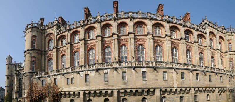 Frankrijk, kasteel van Heilige Germain Engelse Laye stock foto