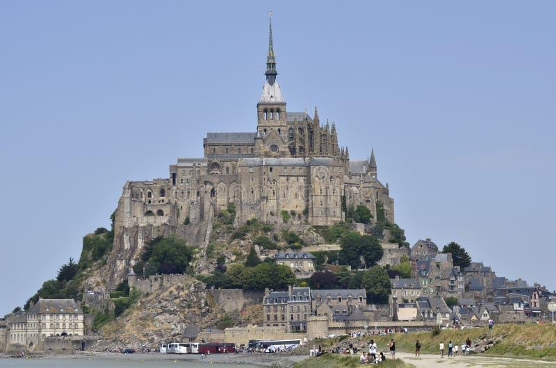 Frankrijk, Mont San Michel royalty-vrije stock afbeelding