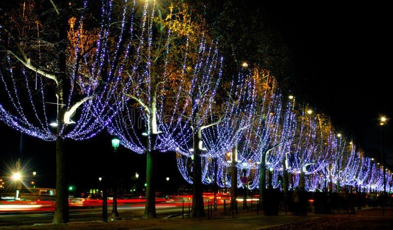 Frankrijk, Parijs: Champs Elysees royalty-vrije stock foto's
