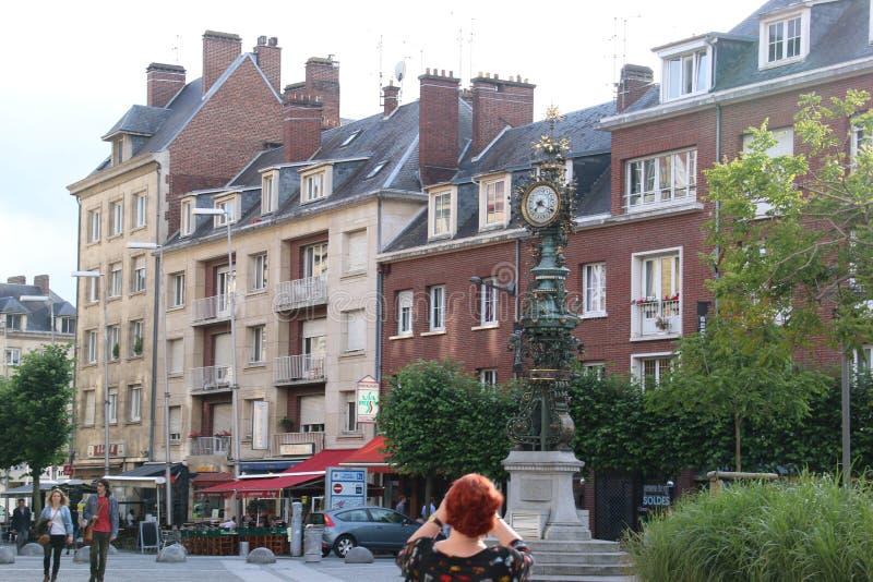 Frankrike Amiens Juli 2014 royaltyfria bilder