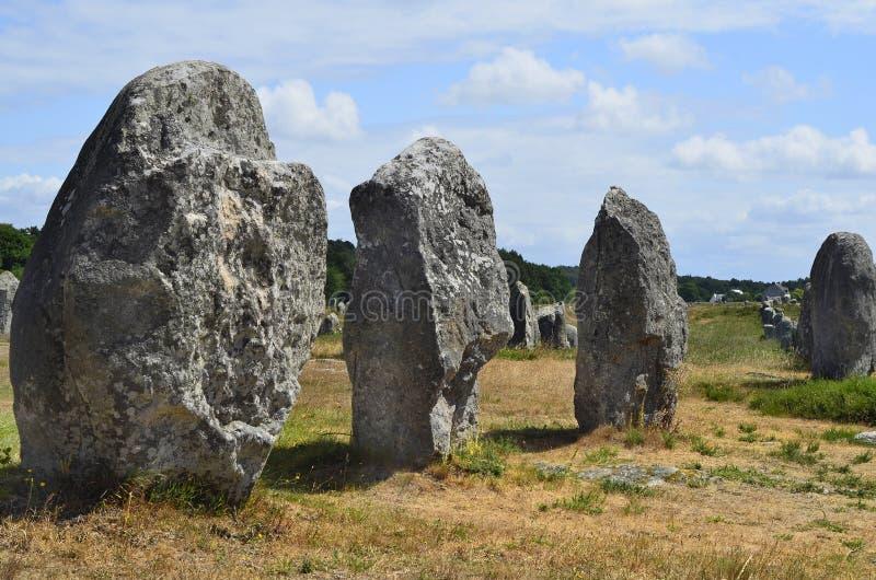 Frankrike Brittany, Carnac fotografering för bildbyråer