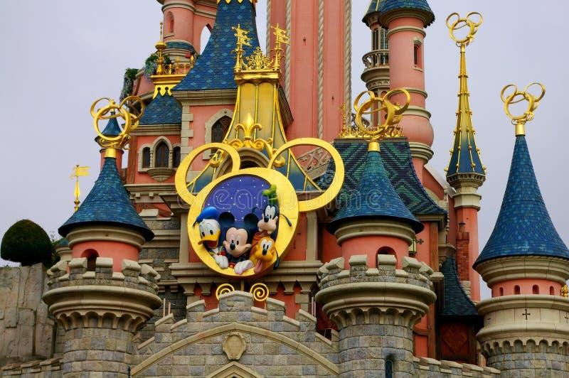 Frankrike Disneyland fotografering för bildbyråer
