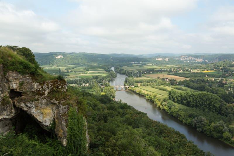 Frankrike Dordogne arkivbilder