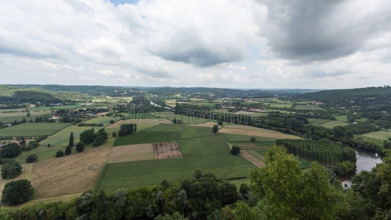 Frankrike Dordogne royaltyfri foto