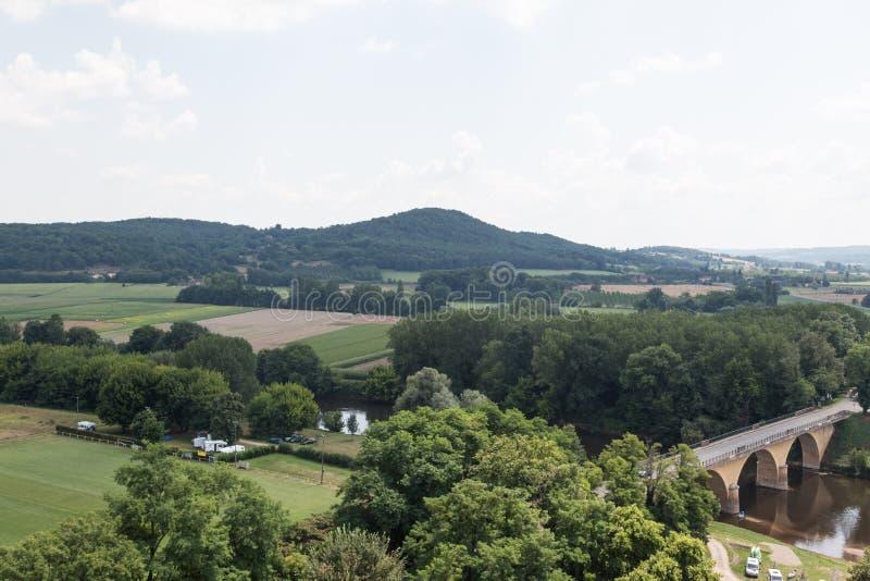 Frankrike Dordogne royaltyfri fotografi
