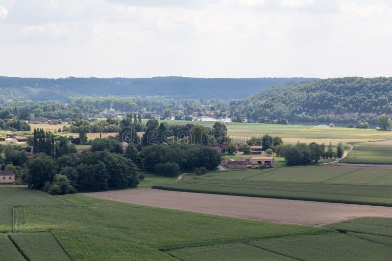 Frankrike Dordogne royaltyfri bild