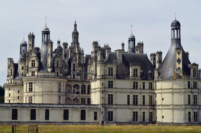 Frankrike Loire Valley, Chambord arkivbilder