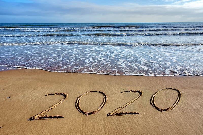 Frankrike lyckligt nytt år 2020 royaltyfria foton