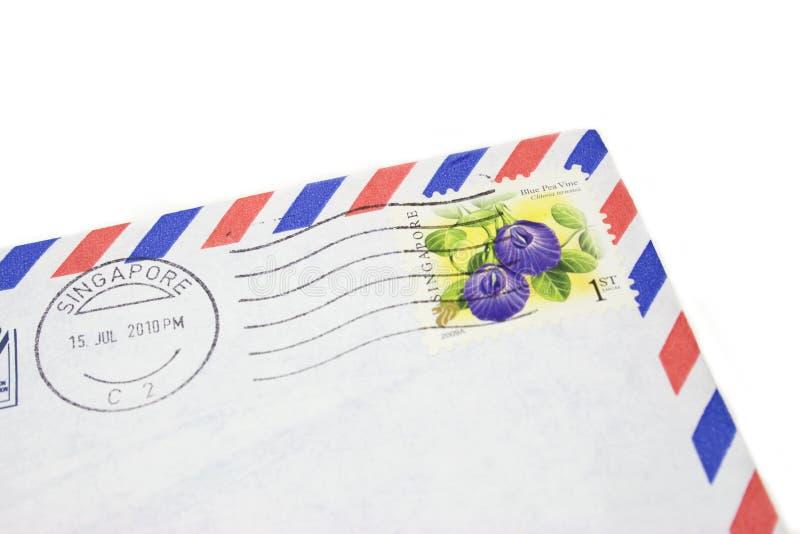 Franqueo de Singapur imagen de archivo libre de regalías
