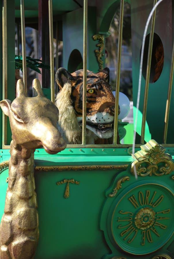 Frans Carnaval van Nice royalty-vrije stock foto