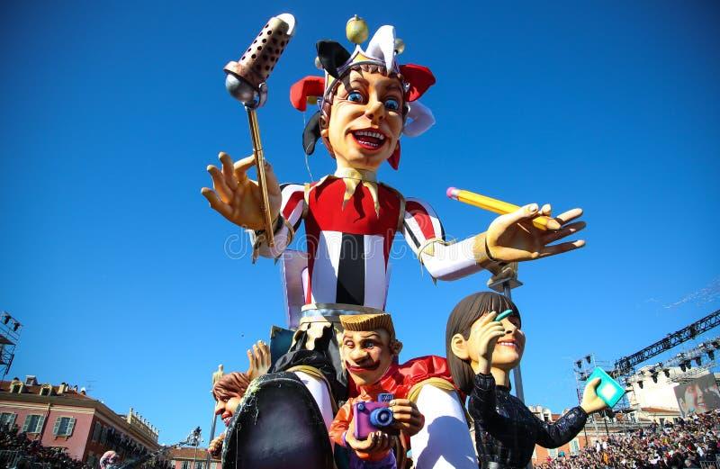Frans Carnaval van Nice royalty-vrije stock afbeeldingen