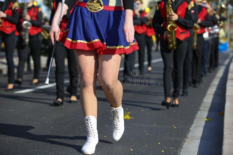 Frans Carnaval van Nice stock afbeeldingen