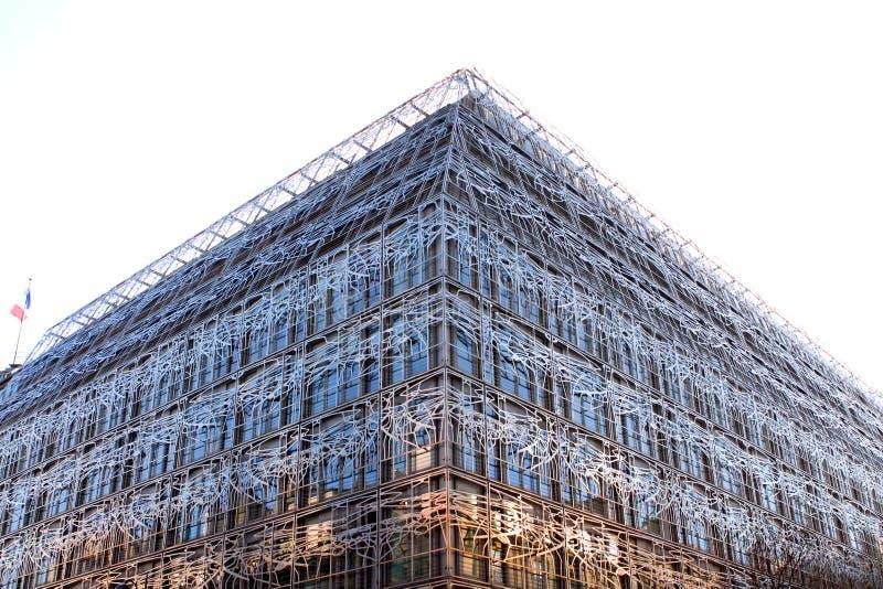 Frans cultuurministerie - Parijs stock foto