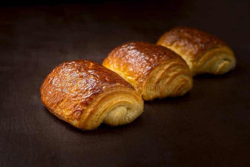 Frans gebakje stock foto