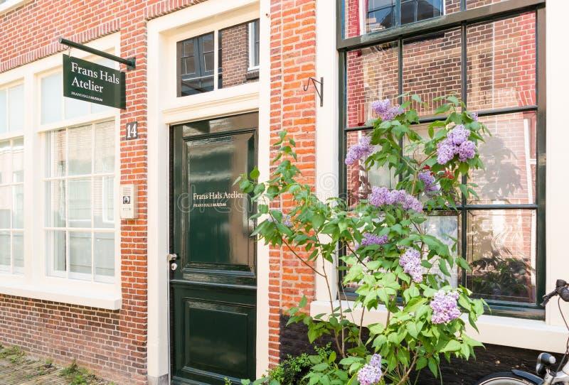 Frans Hals Studio en Haarlem, Países Bajos fotos de archivo libres de regalías