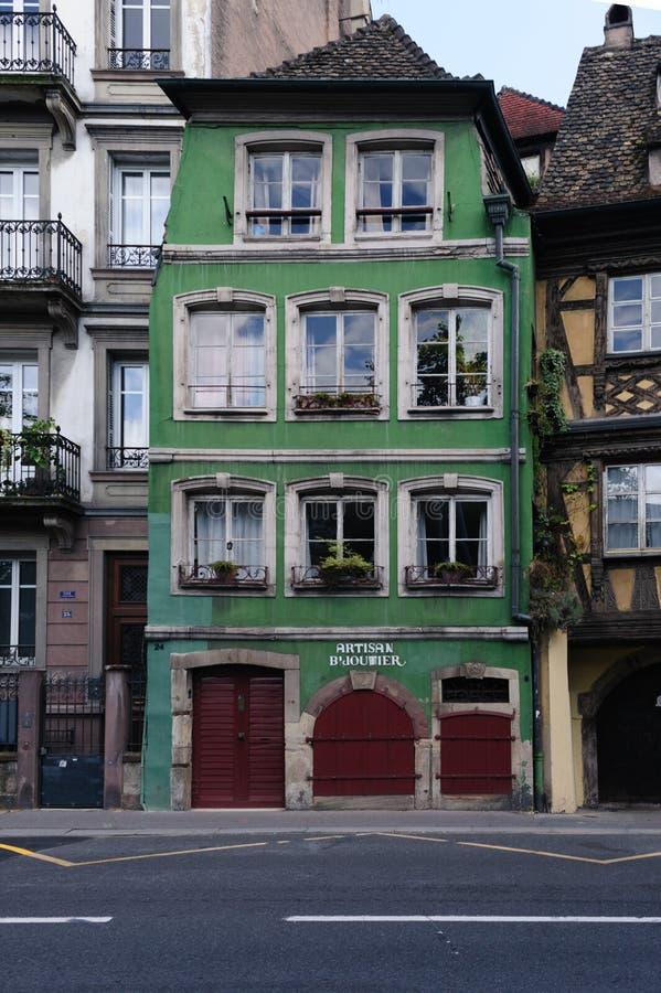 Frans huis royalty-vrije stock foto