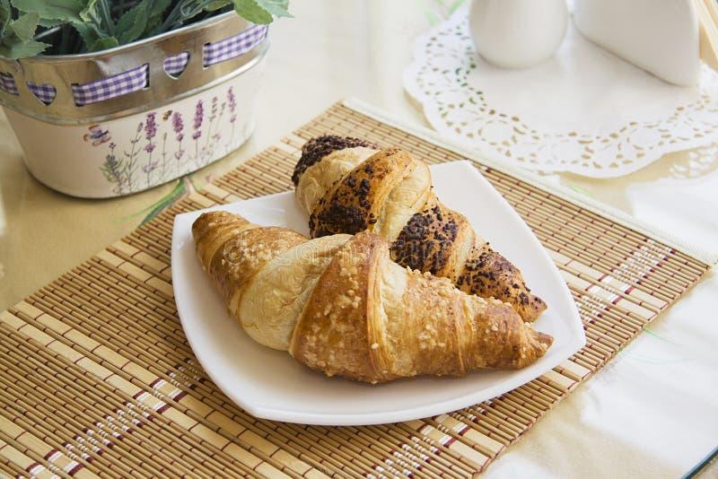 Frans ontbijt #9 stock afbeelding