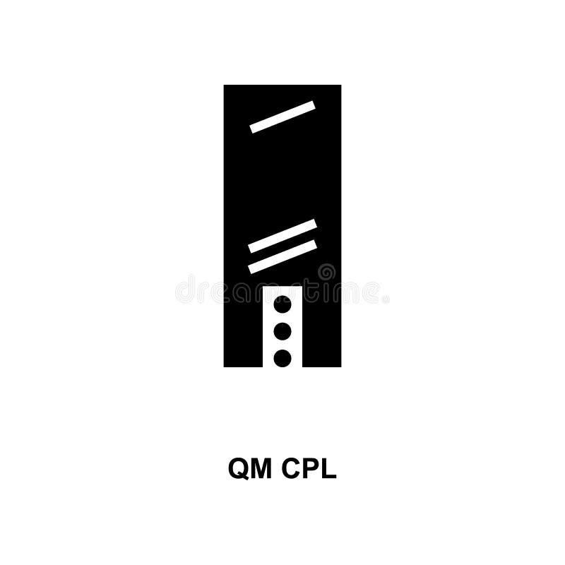 Frans qm cpl militair rangen en insignes glyph pictogram royalty-vrije illustratie
