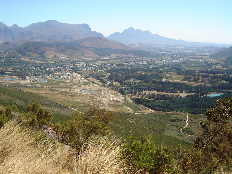 Franschoek royalty free stock images