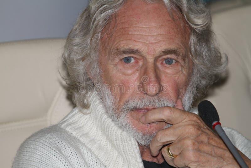 Franse acteur Pierre Richard royalty-vrije stock foto
