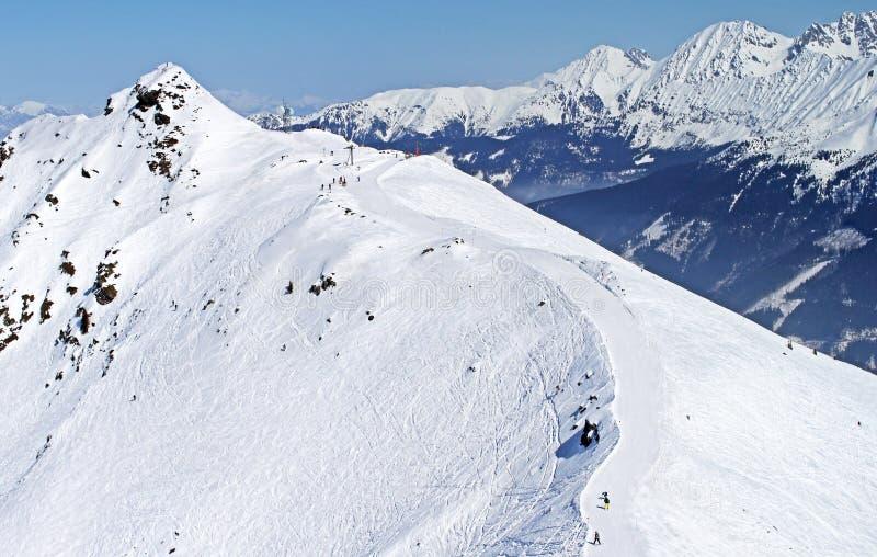 Franse Alpen stock fotografie