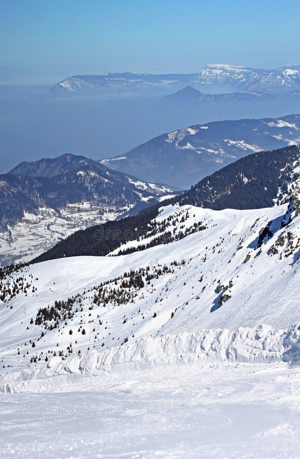 Franse Alpen royalty-vrije stock foto's