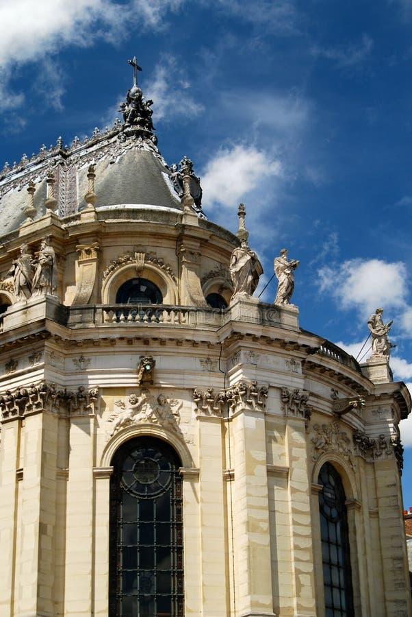 Franse Barokke Architectuur bij Paleis van Versailles royalty-vrije stock afbeelding