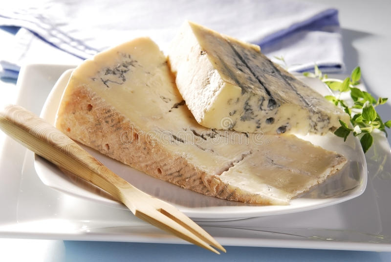 Franse kaas royalty-vrije stock afbeeldingen