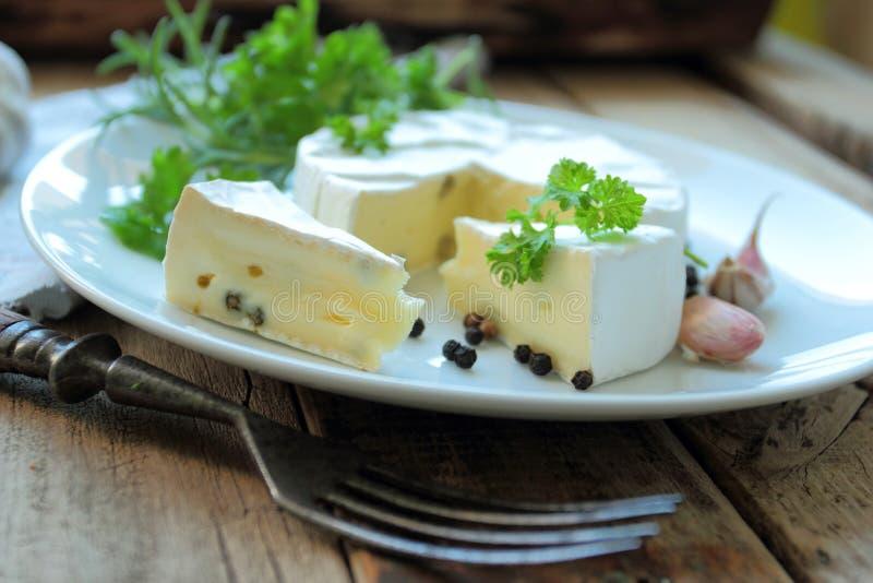 Franse kaas stock foto's
